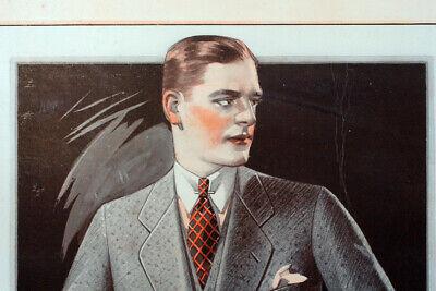 Vintage Men's Fashion Suits Coats Advertising 1920s Dapper Attire Mens Style A9 - 20s Fashion Mens
