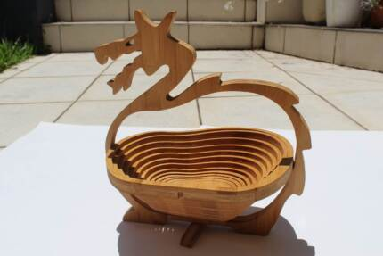 Chinese Dragon Collapsible Fruit Bowl