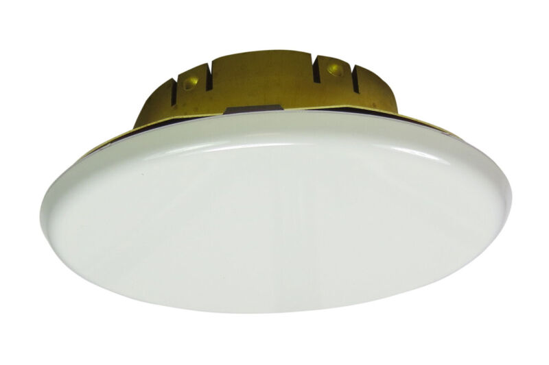 Viking White Large Diameter Cover Plate for Mirage Fire Sprinklers