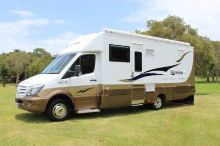 2016 Mercedes Paradise Inspiration Supreme Motorhome 9,200km Tweed Heads South Tweed Heads Area Preview