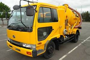 1996 MK211 NISSAN DIESEL (UD) CONDOR SUPERVAC TRUCK. LOW 131,000K Biggera Waters Gold Coast City Preview