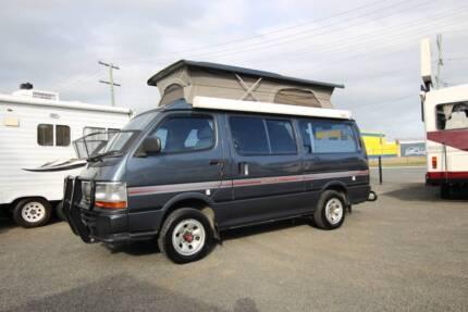 Toyota Hiace 4WD Frontline Campervan Automatic Diesel Tweed Heads South Tweed Heads Area Preview