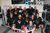 Looking for ball hockey players in Parry Sound