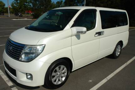 2004 E51 SERIES 2 NISSAN ELGRAND 3.5 LITRE RWD V6 WAGON. 5 SPEED Arundel Gold Coast City Preview
