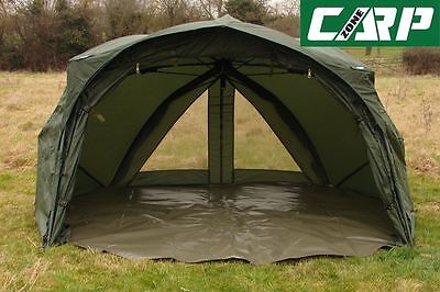 Carp-Zone AirWave Brolly System with Rear Ventilation Panels