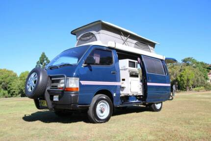 Toyota 4WD Automatic Diesel Rare with Low Range Campervan