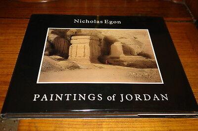 PAINTINGS OF JORDAN BY NICHOLAS EGON-SIGNED COPY