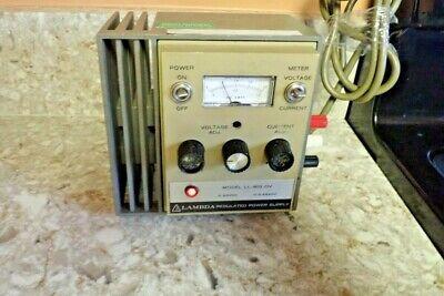 Lambda Regulated Power Supply Model Ll-902-ov Tested 0-20vdc - 0-0.675adc