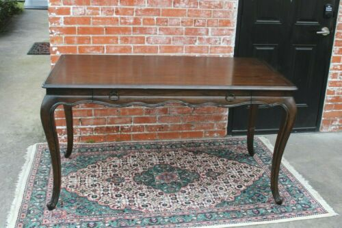French Oak Louis XV Style Writing Desk With 1 Drawers