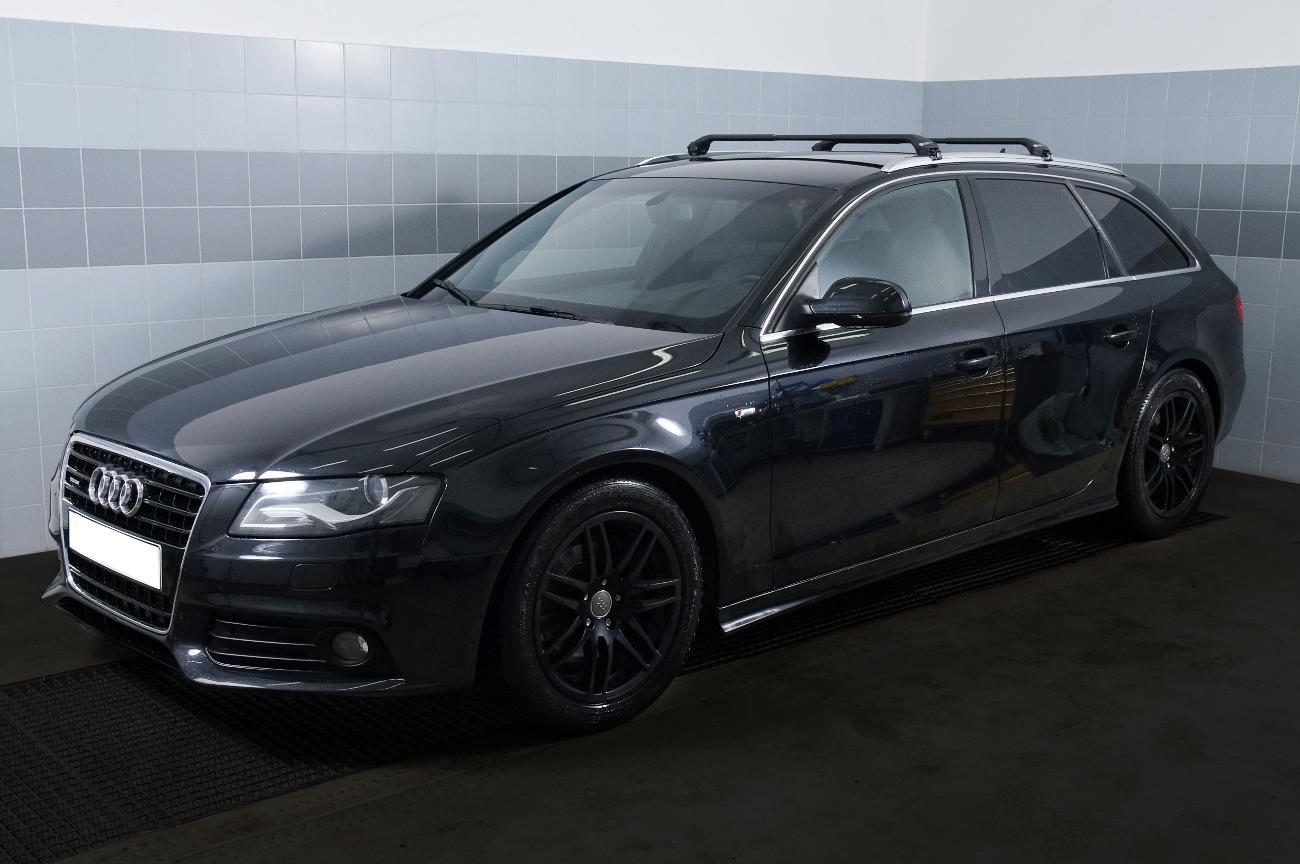 NORDRIVE Design Dachträger Snap Stahl Dach Träger für Audi A4 B9 Avant
