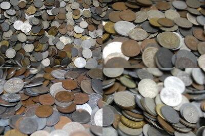 Kiloware 10 kg Münzen Kaiserreich,Weimar  Erhaltung verschieden