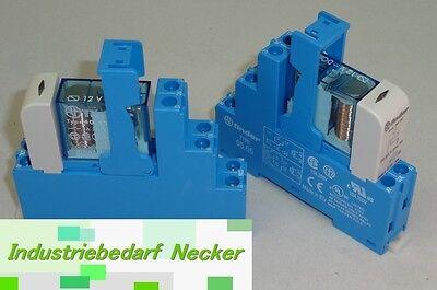48.52.7.012.0050 - Finder Koppel Relais 12V DC 2 Wechsler 8A
