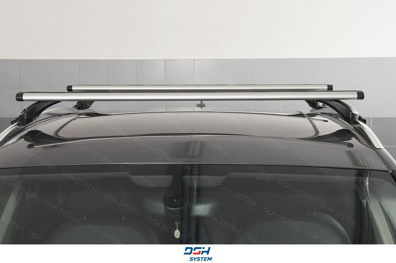 Dachträger Alu AMOS geschlossener Reling Für Audi A4 B9 Avant Kombi 16
