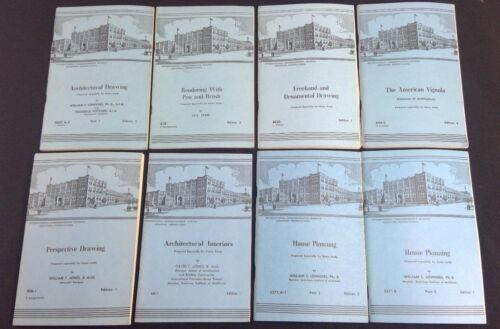 International Correspondence Schools books Architectural Interiors Home Planning