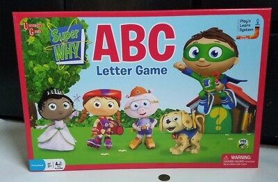 Pbs University Games Kids Super Why Abc Letter Learning Game 100  Complete 2009