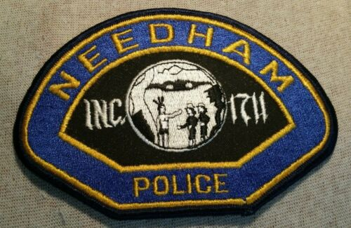 MA Needham Massachusetts Police Patch