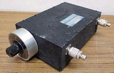 Telonic Berkley Ttf95-5-5ee Manually Tuned Bandpass Filter Ttf 63-125 Mhz