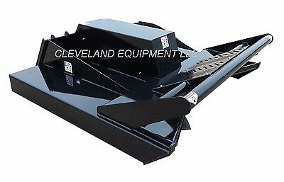 New 72 Hd3 Open Front Brush Cutter Attachment Skid-steer Loader Mower - 3 Blade