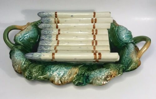 Antique French Asparagus Platter by Creil et Montereau c.Mid 1800s