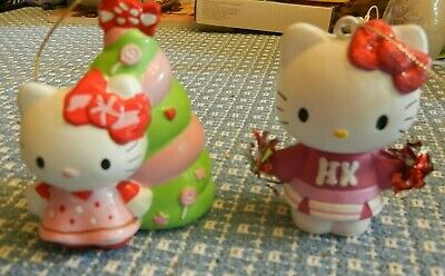 Hello Kitty Ornaments (2 Hello Kitty Christmas)