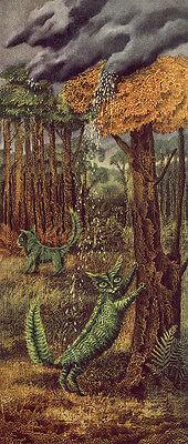 Fern Canvas Print (The Fern Cat     by Remedios Varo   Giclee Canvas Print)