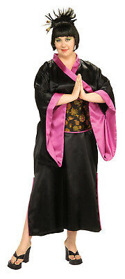 DELUXE GEISHA ADULT HALLOWEEN COSTUME WOMEN'S PLUS SIZE 16-22 - Halloween Costumes Geisha