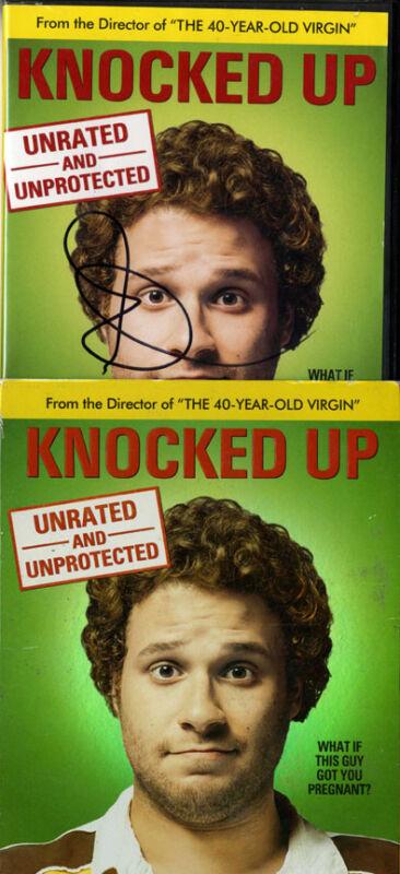 Seth Rogen Autographed Knocked Up DVD Case With Sleeve UACC RD COA AFTAL
