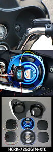 J&M ROKKER XTC 7.25 FAIRING SPEAKERS FOR HARLEY ELECTRA ULTRA STREET GLIDE FLHX