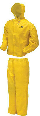 NEW FROGG TOGGS ULTRA LITE UL  RAIN GEAR JACKET PANTS YELLOW XXL 2XL