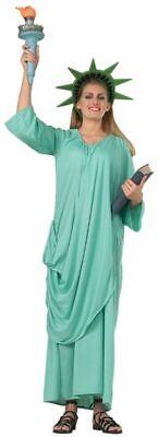Rubies Statue Of Liberty America US Freedom Adult Womens Halloween Costume 16359 - Halloween Statue Liberty Costume