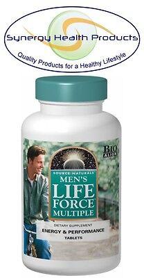 Source Naturals Mens Life Force Multiple   90 Tablets   Bio Aligned Formula