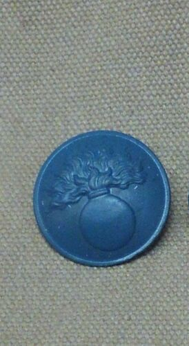 WWI French Button, Painted Large buttons by the each