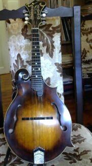 Mandolin-Handmade King Brown