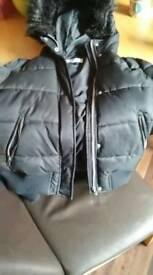 Ladies bomber style small size jacket