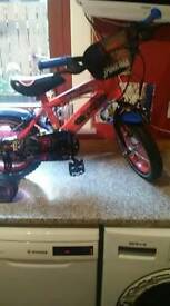 Kids Spiderman bike 12inch