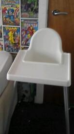 Two kids high chairs like new