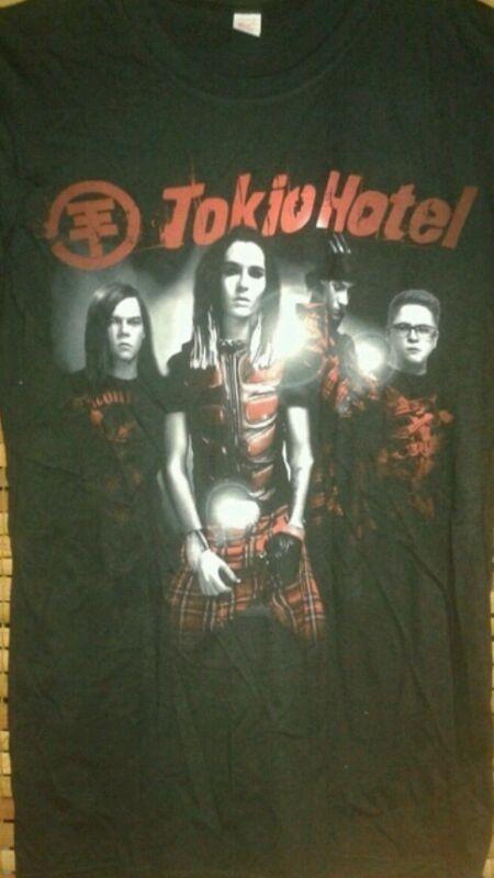TOKIO HOTEL Scream tour concert womens small shirt German rock band cd lp dvd