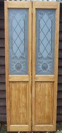 Pine bi-fold door
