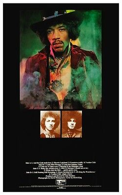 Jimi Hendrix POSTER Electric Ladyland *LARGE* Album Promo Ad
