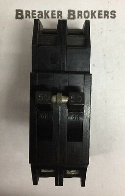 Zinsco Gte Sylvania Type Q Qcp 2 Pole 50 Amp 240v Circuit Breaker
