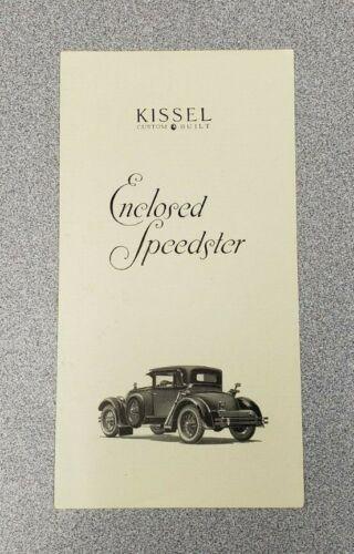 1925 Kissel Sales Folder