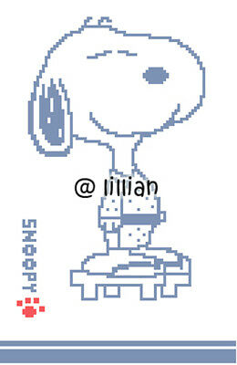 SNOOPY IN KIMONO COSTUME Cross Stitch PATTERN](Snoopy Costume Pattern)