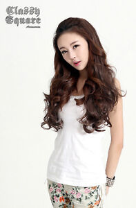 1pc-3-color-US-New-Girl-Fashion-Romantic-3-4-Full-Hair-Long-Wavy-Curly-Half-Wig