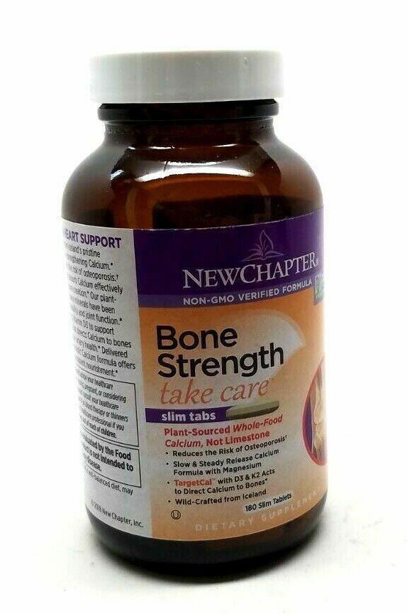 New Chapter Bone Strength Take Care Tablets 180 Count