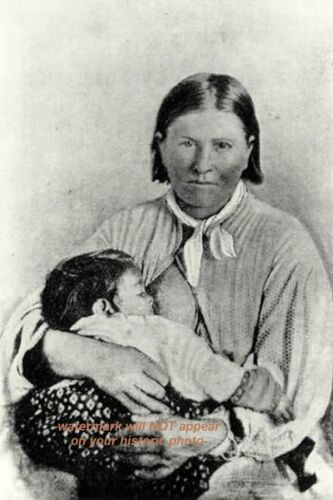 Mother of Comanche Chief Quanah Parker PHOTO,Native American Indian Warrior 61