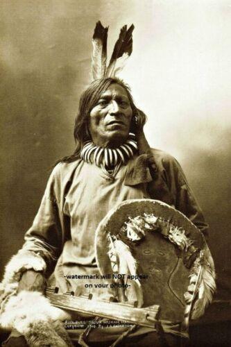 Fool Bull PHOTO Brule Sioux Battle of Little Bighorn Indian Medicine Man 1900
