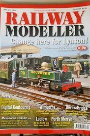 Railway Modeller Magazines x53