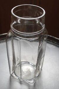 ravissant pot pices en verre apothicaire bocal pharmacie objet m tier ebay. Black Bedroom Furniture Sets. Home Design Ideas