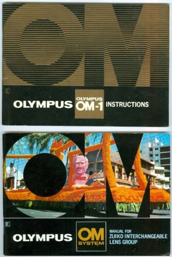Beautiful Olympus OM-1 Instructions Manual, EX++ Condition