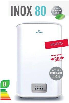 TERMO ELECTRICO WESEN INOX 80 73L 2000W DOBLE DEPOSITO ACERO INOXIDABLE 444